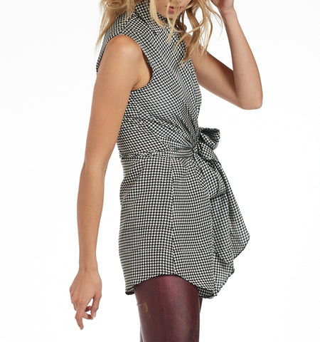 Varon Sleeveless Wrap Blouse