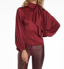 Load image into Gallery viewer, Bubble High-Neck Blouse