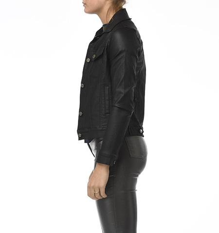 BA Waxed Jacket, Black