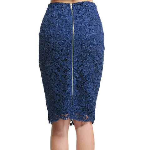 Lace Camilla Zipper Skirt