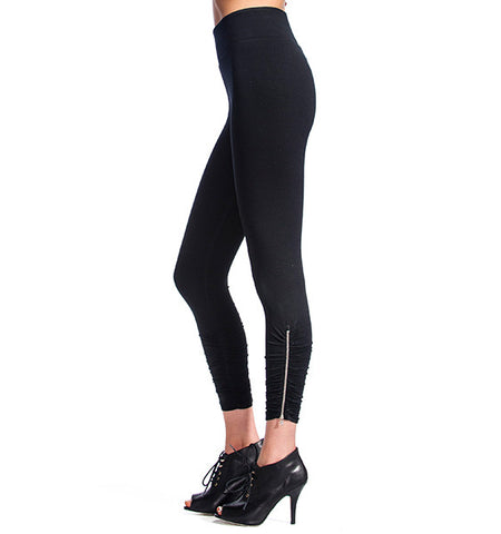 Second Skin Zipper Legging