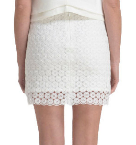 Macrame Mini Skirt