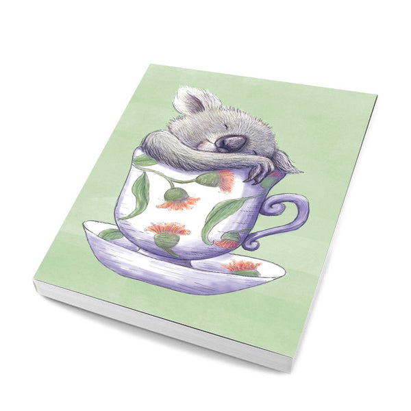 A5 Notebook - Teacup Koala