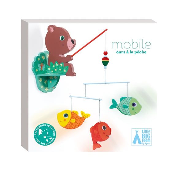 KIds Mobile - Bear with Fish
