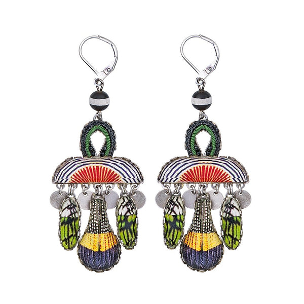 Swing Song Earrings - Sundown R1076