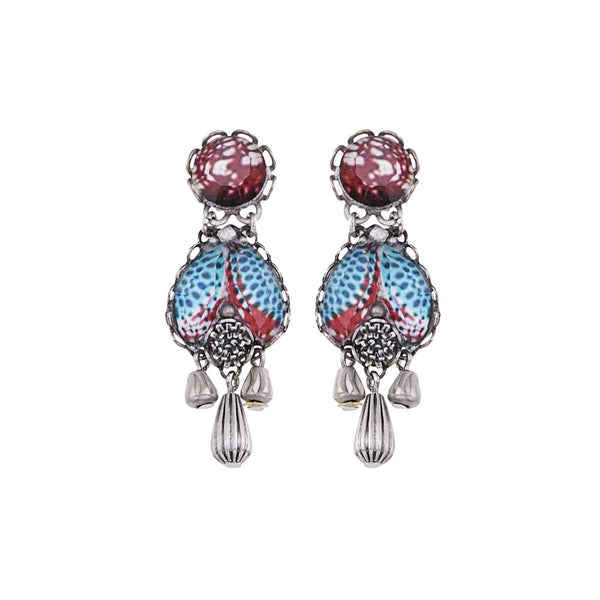 Ayala Bar Earrings - Blue Note Love Song
