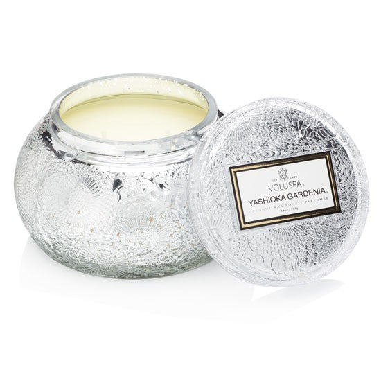 100 Hour Glass Bowl Candle - Yashioka Gardenia