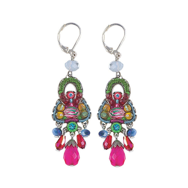 Ayala Bar Earrings - Danube Blossom
