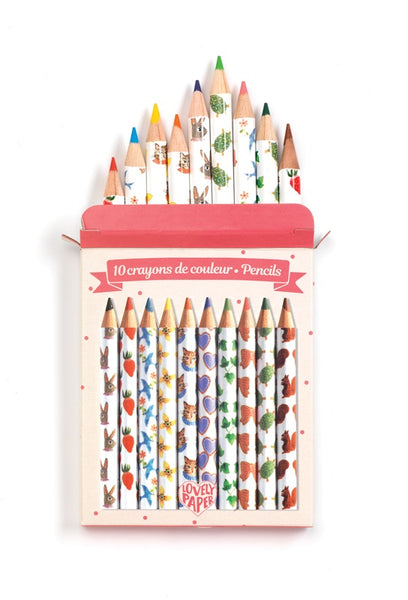 Mini Pencils 10 Pack