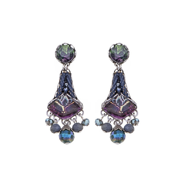 Ayala Bar Earrings - Rain Forest Lauren