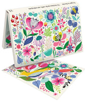 Notecard Set - Colourful Garden