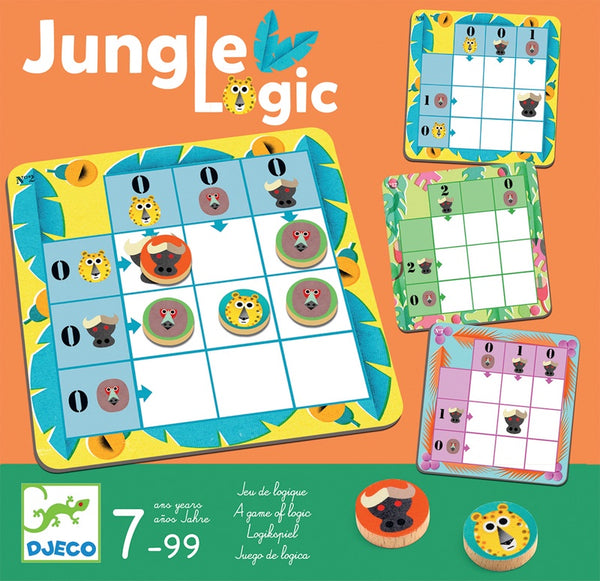 Jungle Logic Brainteaser Game