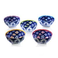 Moroccan Design 5 Bowl Set