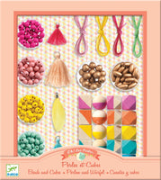 Jewellery Making Set - Beads & Cubes