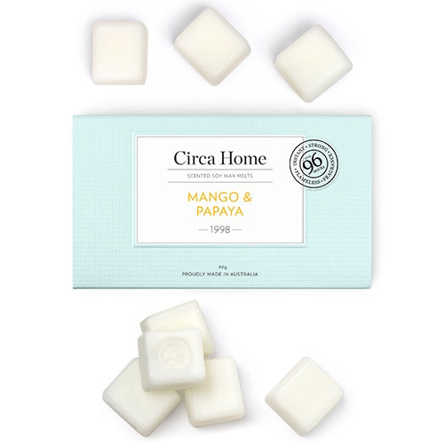 Circa Home Soy Wax Melts -Mango & Papaya