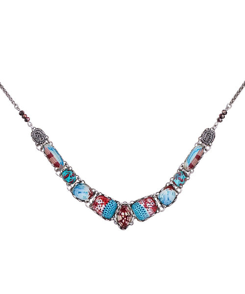 Ayala Bar Necklace - Blue Note Augustina