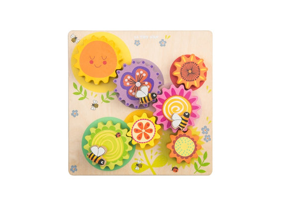 Busy Bee Gears & Cogs Learning Toy