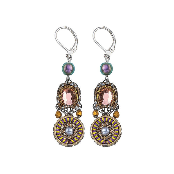 Ayala Bar Earrings - Purple Rain Lumia