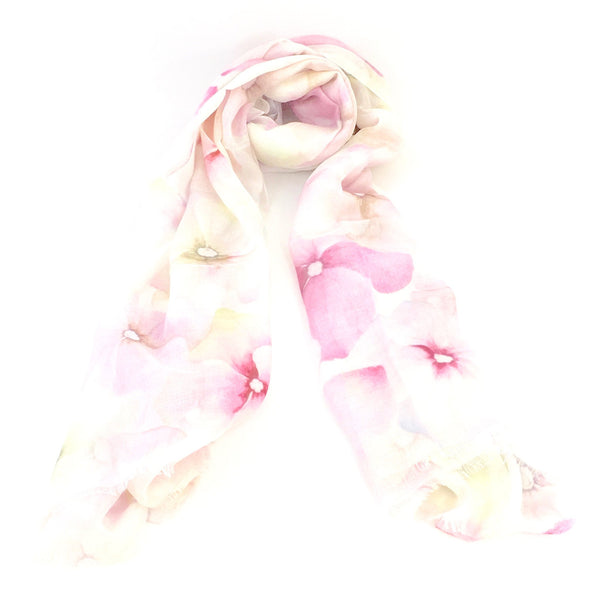 Silk & Modal Scarf - Dream Garden
