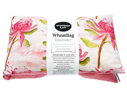 Wheatbag in Gift Box - Waratah