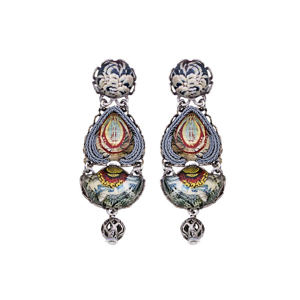 Ayala Bar Earrings - Marble Beach Galile
