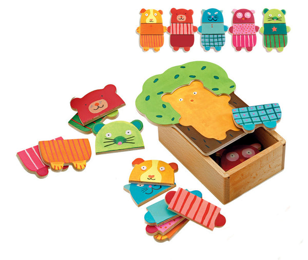 Box Of Bears Puzzle Set