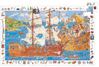 100 Piece Puzzle And Poster - Pirates