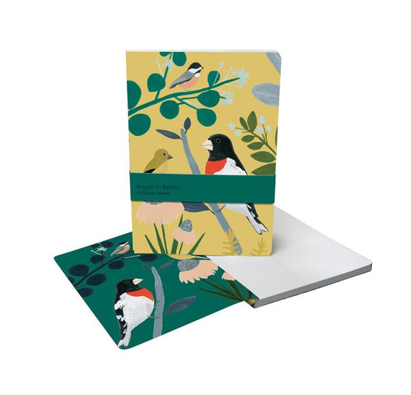 A5 128 Page Journal - Bird Garden