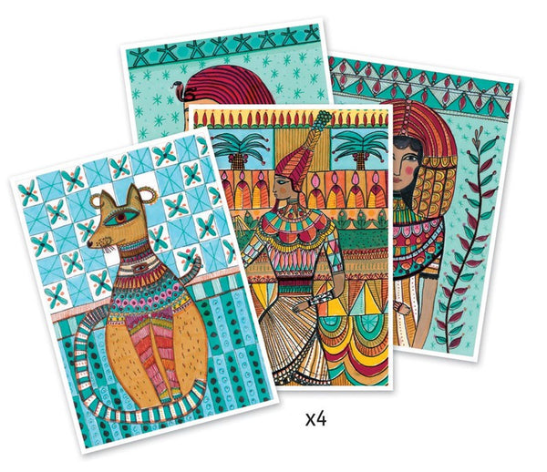 Art By Numbers Kit - Egyptian