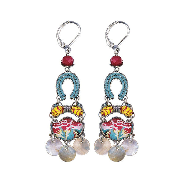 Ayala bar Earrings - Bahia Oblivion