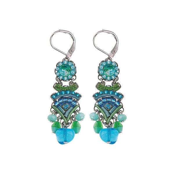 Ayala Bar Earrings - Riviera Stream