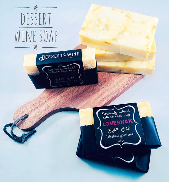 Loveshak Soap Bar - Desert Wine