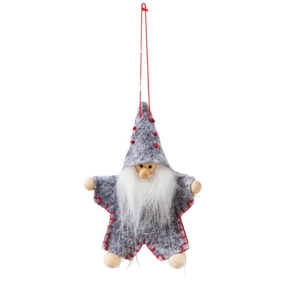 Grey Gandalf Felt Decoration