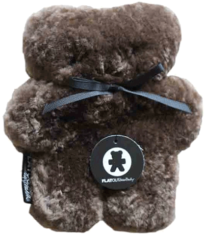 Flatout Baby Bear - Chocolate