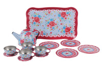 Vintage Tea Set - Rose Garden