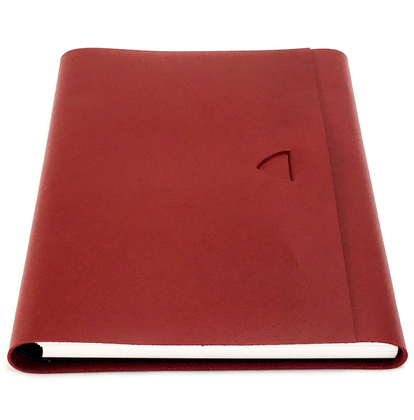 Artefact A5 Leather Journal - Red Ochre