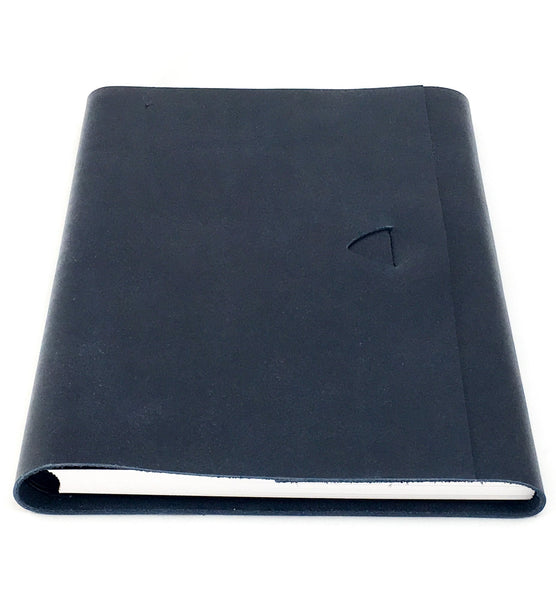 Artefact A5 Leather Journal -  Black Stone