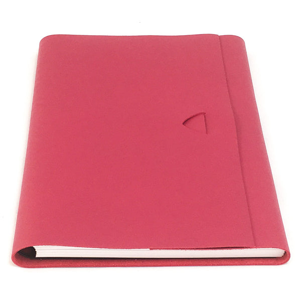 Artefact A5 Leather Journal -  Pink Lake