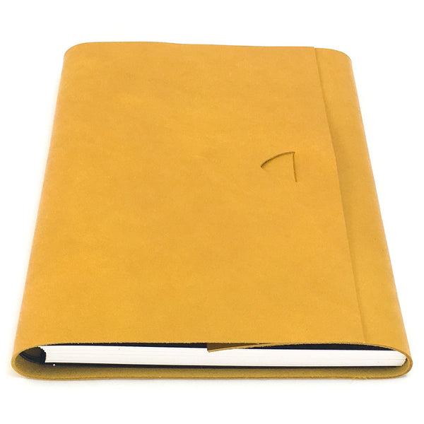 Artefact A5 Leather Journal - Yellow Ochre