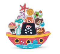 Rock & Stack Balance Toy - Pirate