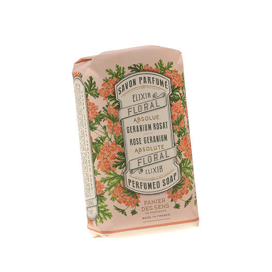 Rose Geranium Wrapped Soap Bar - 150g