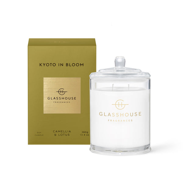 Glasshouse Soy Candle (380g) - Kyoto In Bloom