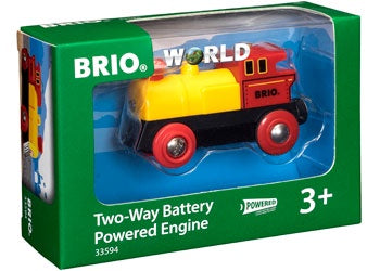 Brio World - Two-Way Battery Powered Engine (3y+)
