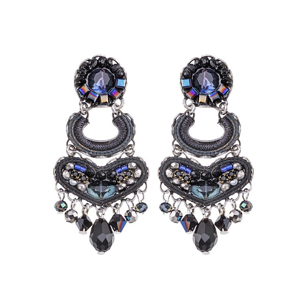 Ayala Bar Earrings -  Ethereal Spirit Oxford Blue