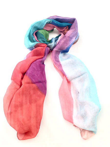 Artist Label Scarf - 'View' Viscose Modal Scarf