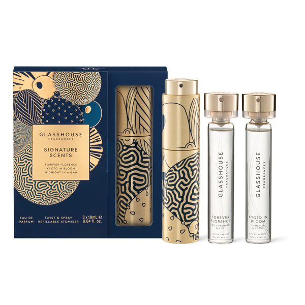 Christmas Signature Scents Gift Set - Milan/Kyoto/Florence