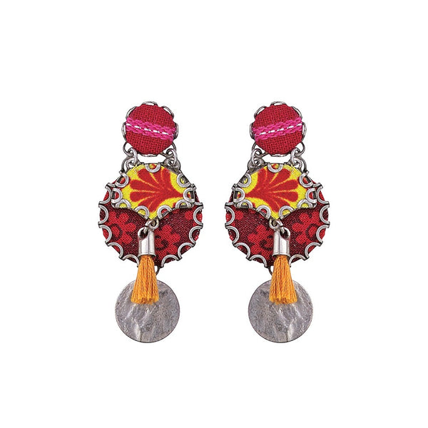 Ayala Bar Earrings - Kaleidoscope Rigal