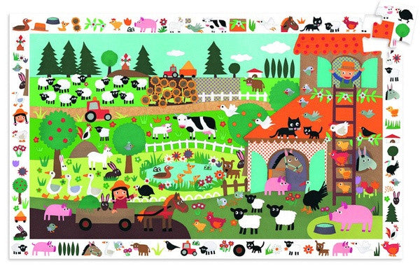 Puzzle And Poster - The Farm
