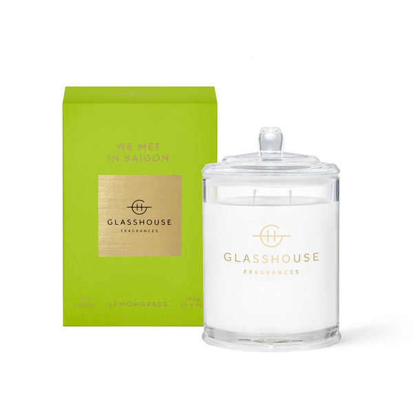 Glasshouse Soy Candle (380g) - We Met in Saigon