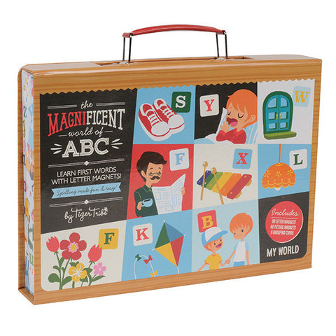 Magnificent World Of ABC Magnet Set - My World